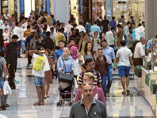 personnent qui vivent à Dubaï